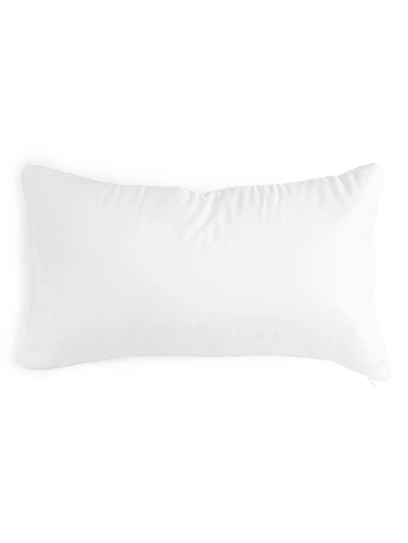 cotton and silk pillow cover white1
