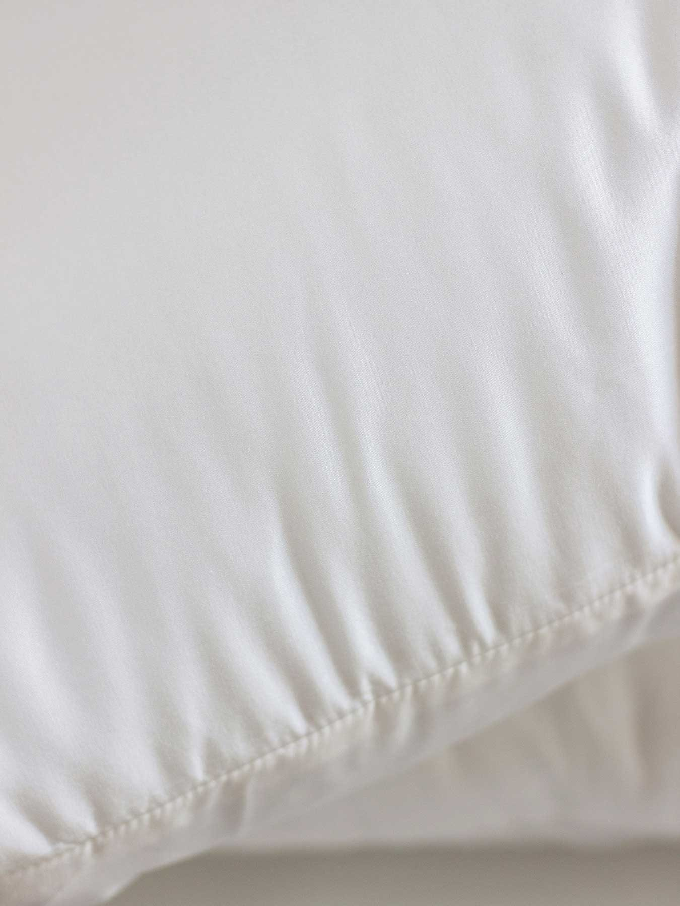 cotton and silk pillow cover white2