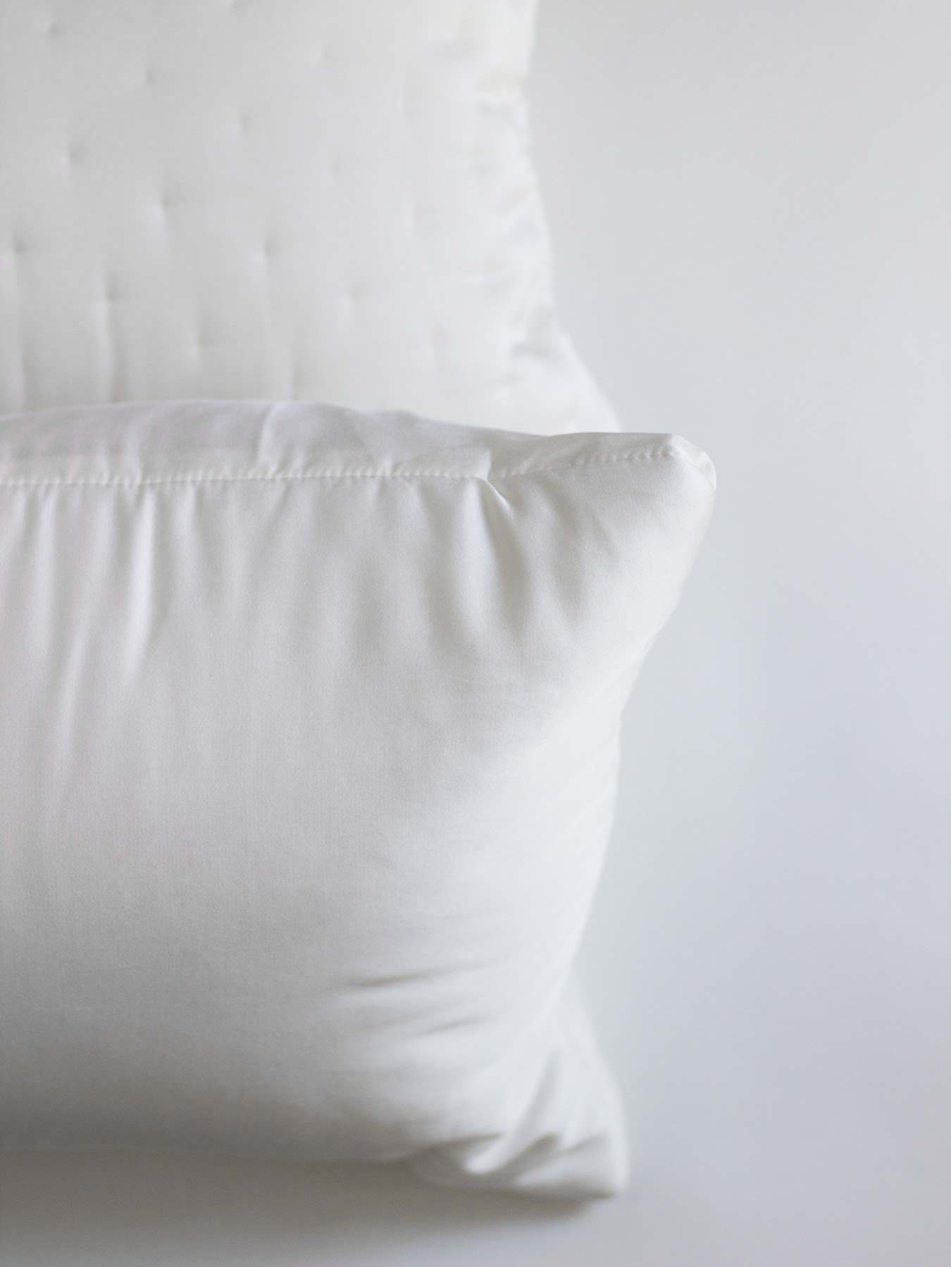 cotton and silk pillow cover white3