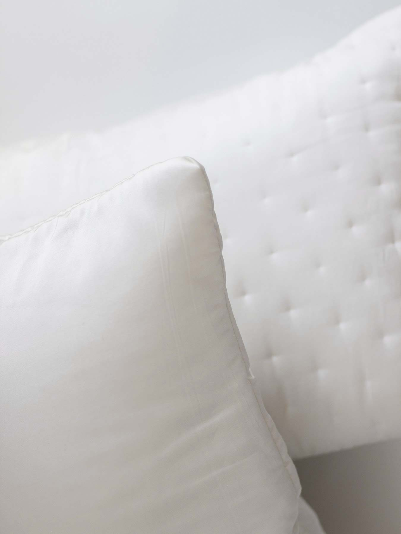 hand embroidery pillow cover white4